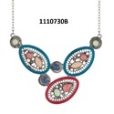 Multicolor Jewelmaze Enamel Trendy Necklace
