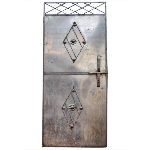 Single Iron Door Size Dimension 2 5x6 5 Feet Rs 2000 Piece Id