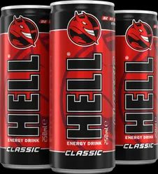 MIXED FRUIT FLAVOUR Hell Energy Drink - Classic, Packaging Size: 24