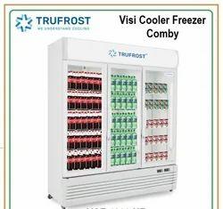 Visi Cooler Freezer Comby, Number of Doors: 3