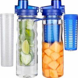 Clear Designer Water Bottle