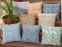 Hand Block Printed Cotton Designing Cushion Cover