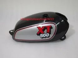 New Yamaha Xt Tt 500 Silver And Black Painted Steel Petrol Tank 1980 Model