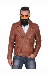 Strobe - Stylish Brown Biker Jacket