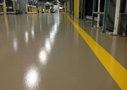 Matte Cementacious Flooring, Finish Type: cement look, For Office