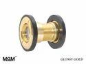 Glossy Gold Door Viewer