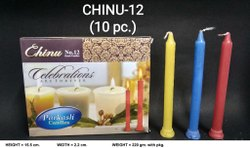 CHINU-12 COLOR DEEPAWALI CANDLE