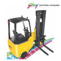Godrej 1.2 to 2 Ton Articulated Forklift as Truck