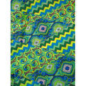 Printed Multicolor Cotton Fabric, Use: Garments