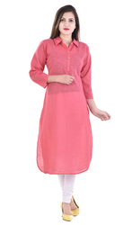 Round Neck Ladies Kurti