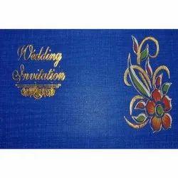 Kraft Paper Designer Wedding Invitation Card