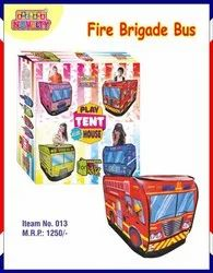 Revolving Cotton Fire Brigade Buss For Kids, Child Age Group: 3-9