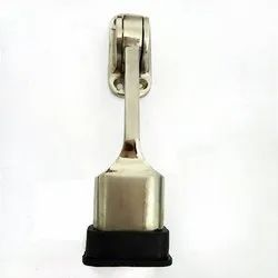 White Metal Door Stoppers