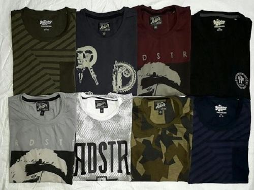 Branded Surplus Stock Lots Men's T shirts Genuine Surplus
