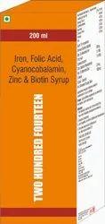 Iron Folic Acid Cyanocobalamin Zinc & Biotin Syrup