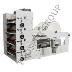 Four Color Flexography Printing Machine, Pre Printed