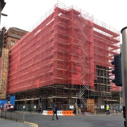 Scaffolding And Debris Protection Nets