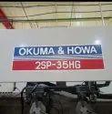 Twin Spindle CNC Chucker Okuma