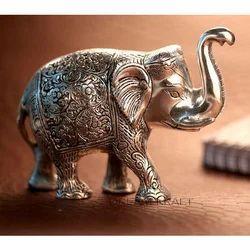 Elephant Sculpture, Usage: Interior Decor