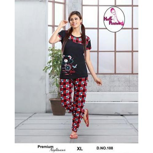 21d768381 Night Suits Printed Girls Fancy Night Suit