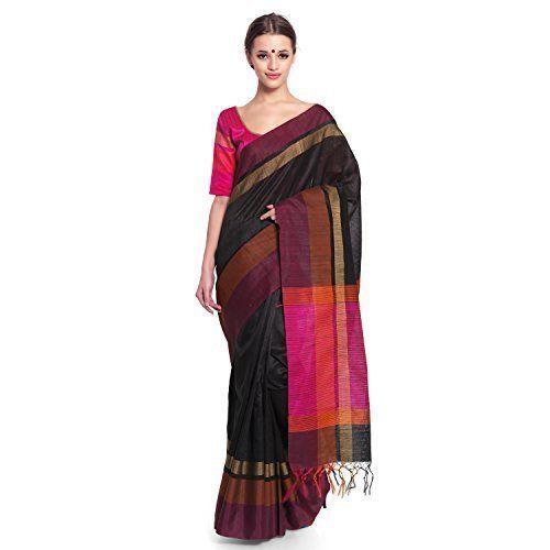 a7ad59b144 Multicolor Plain Tussar Cotton Silk Saree, Rs 1400 /piece | ID ...