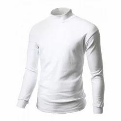 Cotton Casual Men's Full Sleeve T-Shirt