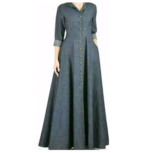 d216bea7ff59 Tulsi Licious Western Plain Designer Long Gown