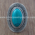 Turquoise 925 Silver Rings with Wholesale Price