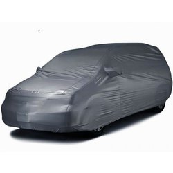 Matty Cloth Silver Tarpaulin Car Cover
