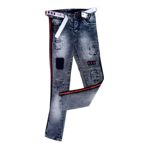 20-30 Also Available In 30-40 Casual Wear Kids Designer Printed Jeans