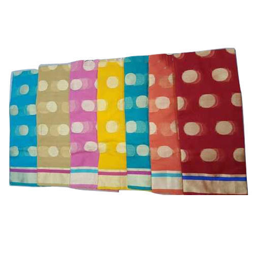 Ladies Cotton Kota Traditional Saree