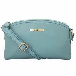Light Turquoise Lapis O Lupo Women's Synthetic Sling Bag
