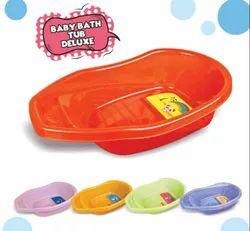 Panda Plastic Baby Bath Tub Deluxe2