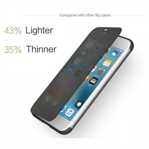 super popular 2840f d8929 Rock Dr V Smart View Flip Cover Case Compatible For Iphone