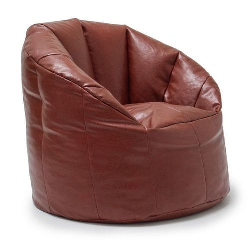 Incredible Leather Bean Bag Pabps2019 Chair Design Images Pabps2019Com