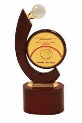 Golden Brass College Award Trophy
