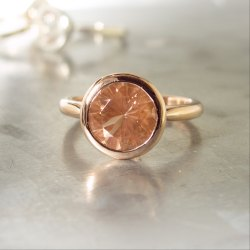 Sunstone Ring Men and Women Panchdhatu Gemstone