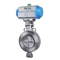 Rack and Pinion Type Butterfly Valve