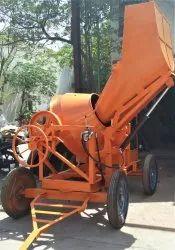 JSC006 Mild Steel Hopper Concrete Mixer