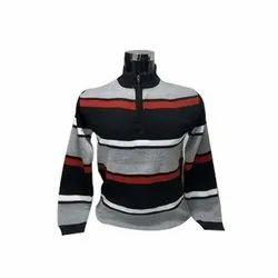 Male Woolen Mens Full Sleeves Pullover