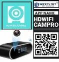 Safetynet 4k Wifi Wireless Spy Camera