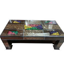 Multicolor Wooden Center Table 5 By 3 Rs 11000 Piece Jain Steel