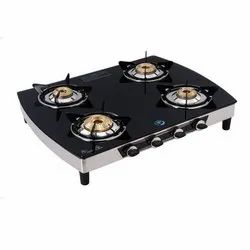 MC-422 Glass Four Burner Stove