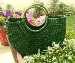 Ethica Handbags Kauna Grass U Bag, For Casual Wear, Size: 14