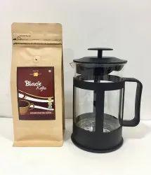 Bhavani French Press 800mL Bhavani Black Koffee 200g
