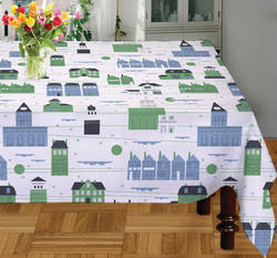 Multi Color Printed Table Cloth