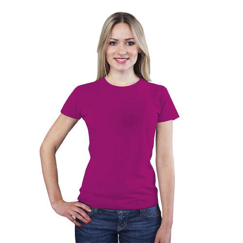 e3f5620508b8 S / M / L / Xl / Xxl Round Women's Cotton T-Shirt, Rs 165 /piece ...