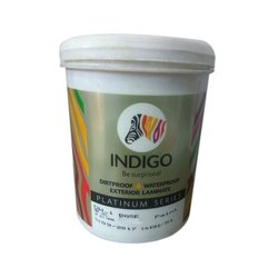 Indigo Waterproof Exterior Laminate Paint, Packaging Size: 10-15 Ltr