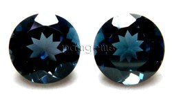 London Blue Topaz Round Pair Gemstone