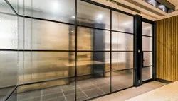 Corporate Aluminium Office Partition